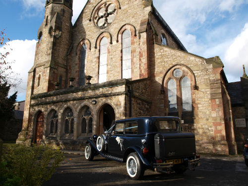 The Beauford Tourer - The Perfect Wedding Car